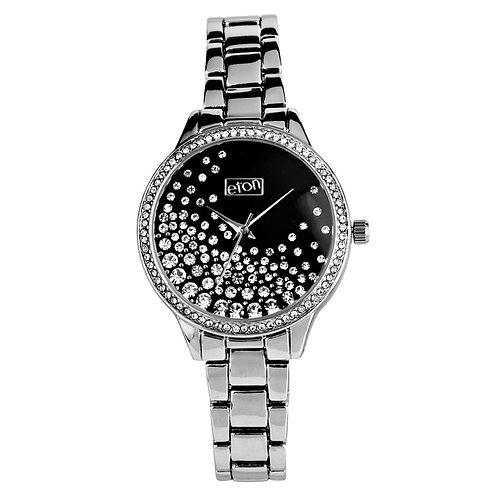 Sparkly Diamante Silver Watch