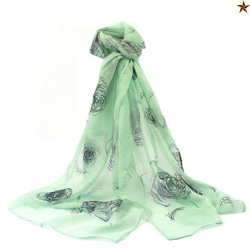 Alassio Rose scarf