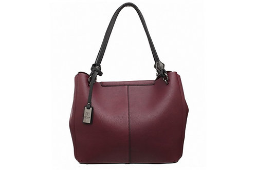 Burgundy 2 in 1 Tote Bag