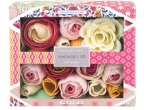 Vintage & Co. Fabric & Flowers Bathing Soap Flowers