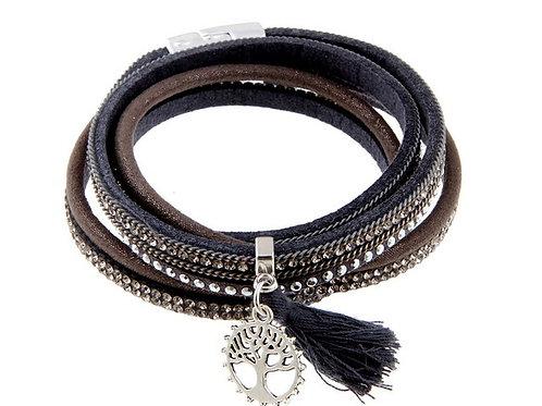 Sparkle Magnetic Suede Bracelet