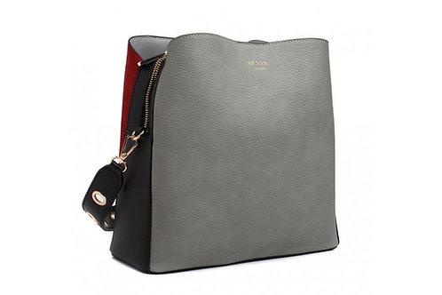 Grey Shopper Tote Bag