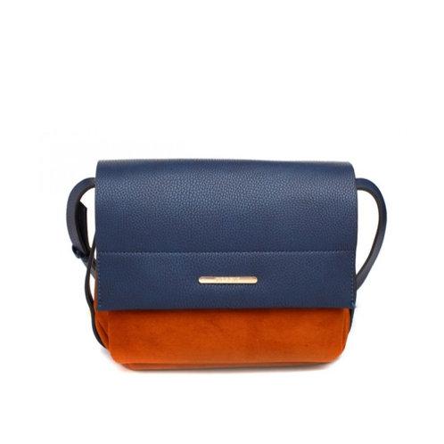 Blue & Orange Casual Cross Body Bag