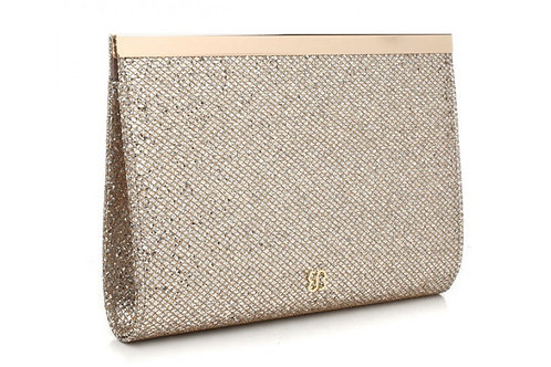Elegant Gold Clutch Bag
