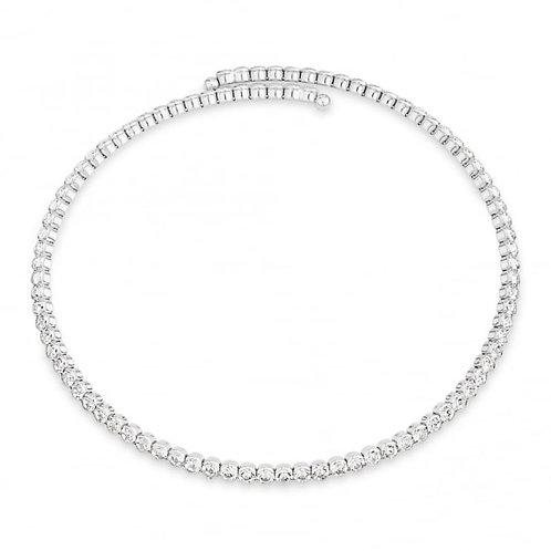 Elegant Crystal Collar Necklace