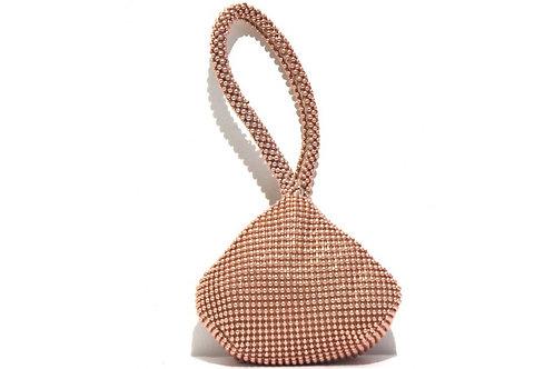 Champagne Pearl Clutch Bag