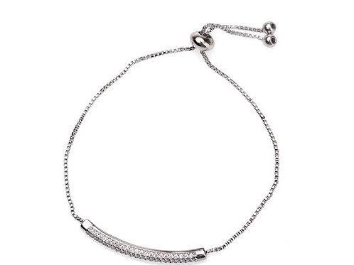 Cubic Zircon Inlaid Bracelet