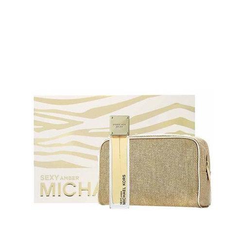 Michael Kors Sexy Amber 100ml EDP Spray / Cosmetics Case