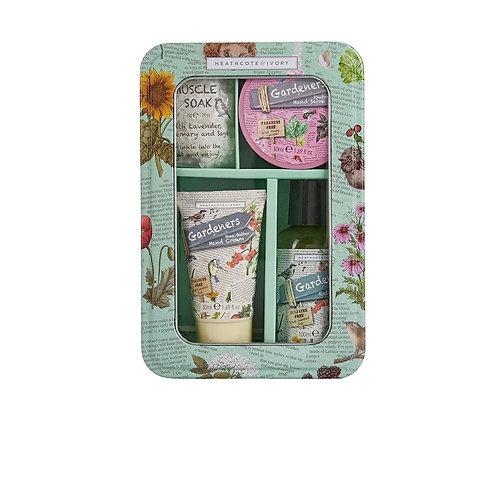 Gardeners Relax & Renew Gift Set tin