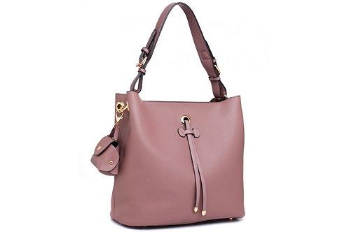 Purple Tassel Shoulder Bag