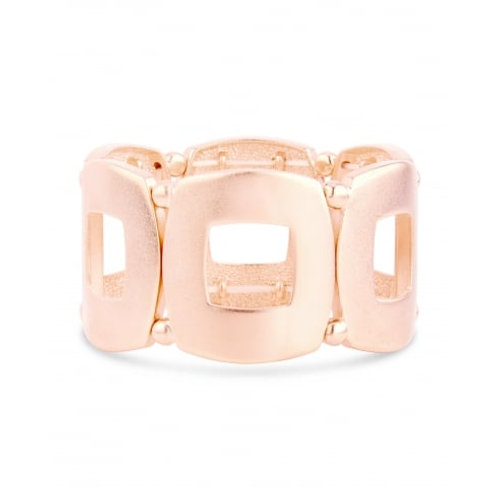 Matt Rose Gold Plated Bracelet