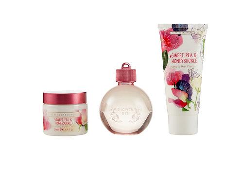 Sweet Pea and Honeysuckle Indulgent Treats Gift Set