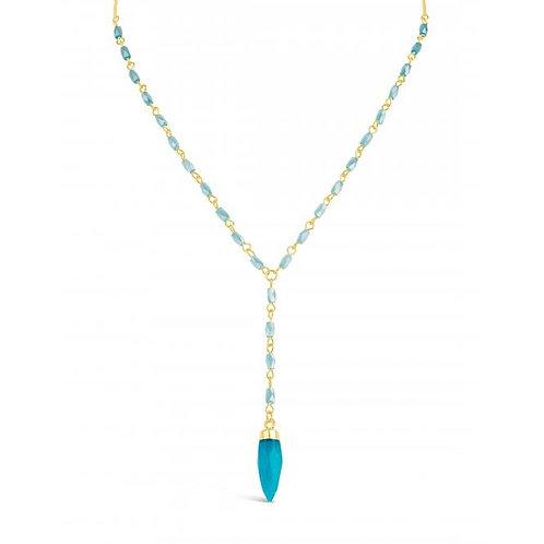 Lovely Sky Blue Necklace