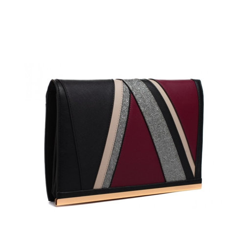Stylish Black Clutch Bag