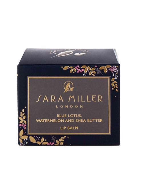 Sara Miller Blue Lotus, Watermelon and Shea Butter Lip Balm
