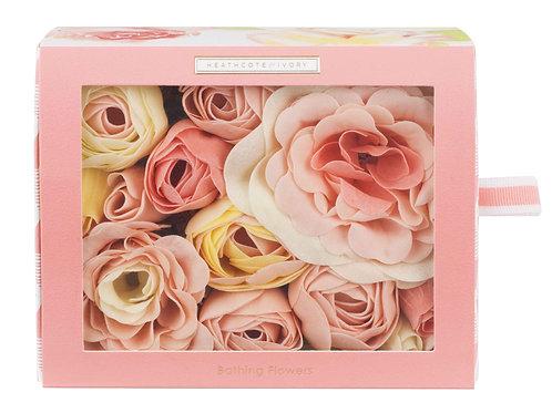 Blush Rose Bathing Flowers