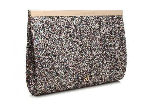 Elegant Glitter Clutch Bag