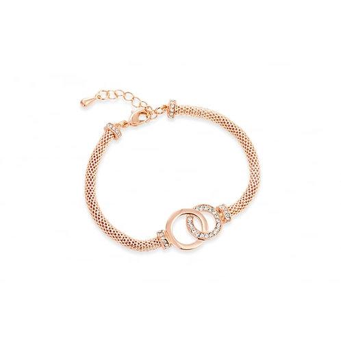 Elegant Rose Gold Bracelet