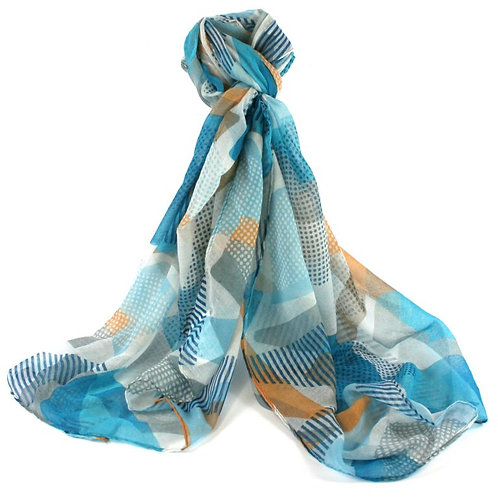 Caxias Geometric Shapes Scarf