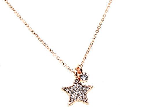 Delicate Star Pendant Necklace