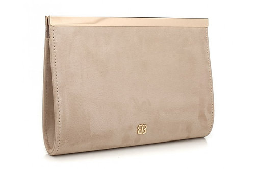Elegant Beige Clutch Bag