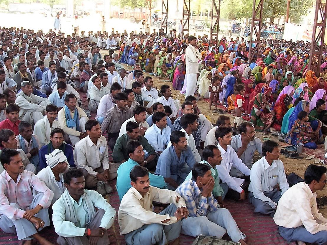 Gathering at Sitapur