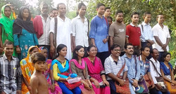 A group of participants involved in  S&T application from West bengal and Orissa