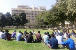 Class in Bio tech lawns,IIT Delhi