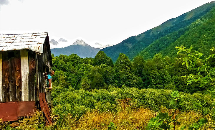 Mountain Village - Wild Bay Camping