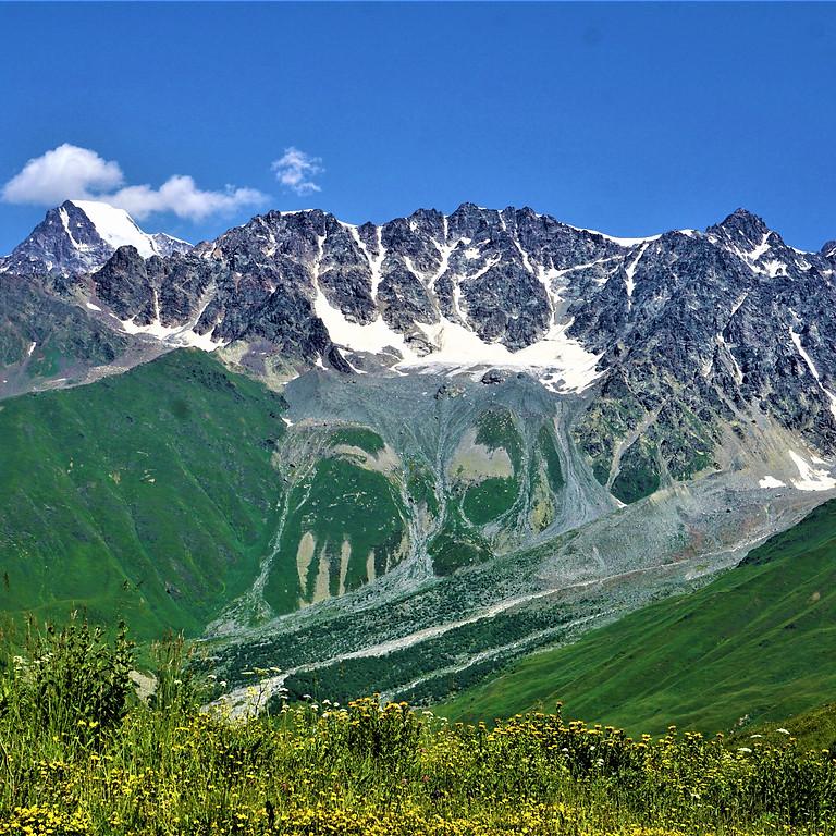 Hike to Tbilisa and Buba Glaciers