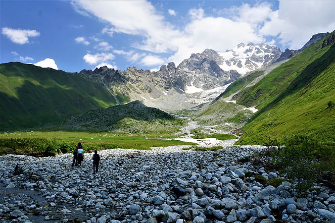 Tbilisa glacier