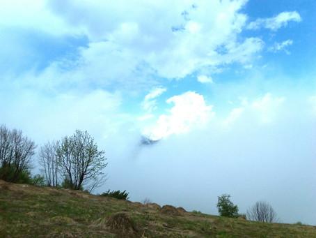 Гора Орба и село Дзеглеви.