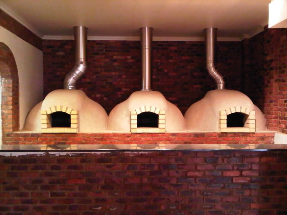 Pizza oven domes