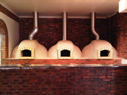 Pizza oven domes
