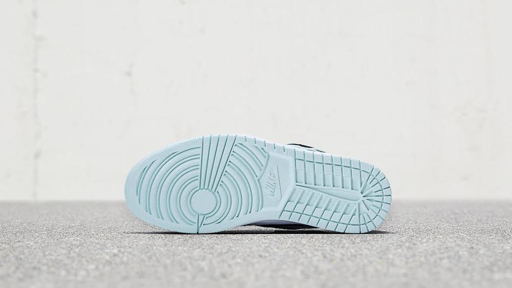 Igloo Blue Jordan 1 Outsole