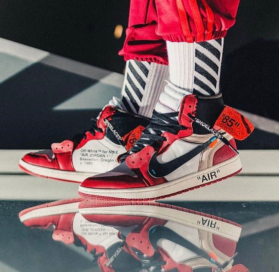 Virgil Abloh and Off-White bring their high-fashion influence to an icon