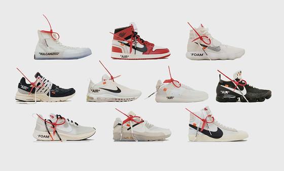 """Off-White"" X Nike 'The Ten' hit today"
