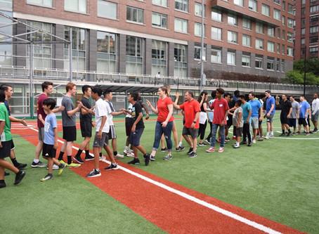 Kickball with Scotiabank and South Bronx United