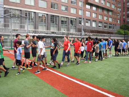 Kickball with Scotiabank and South Bronx United