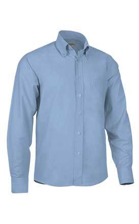 Camisa en tejido exford 2 cabos  30% poliester 70% algodón