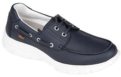 Zapato tipo náutico con cierre de cordones