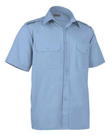 Camisa en tejido popelin ligero  65% poliester 35% algodón