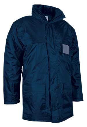 Chaquetón largo de abrigo impermeable
