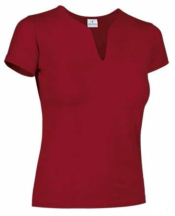 Camiseta Cancun ajustada de mujer, cuello de lagrima.