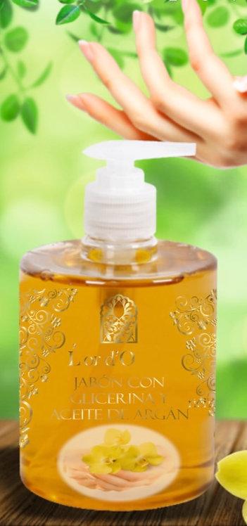 Jabón de manos con glicerina y aceite de Argán 500ml