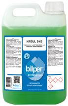 Krisul S-65 Manzana Limpiasuelos neutro con bioalcohol de aroma Manzana 5L. 5