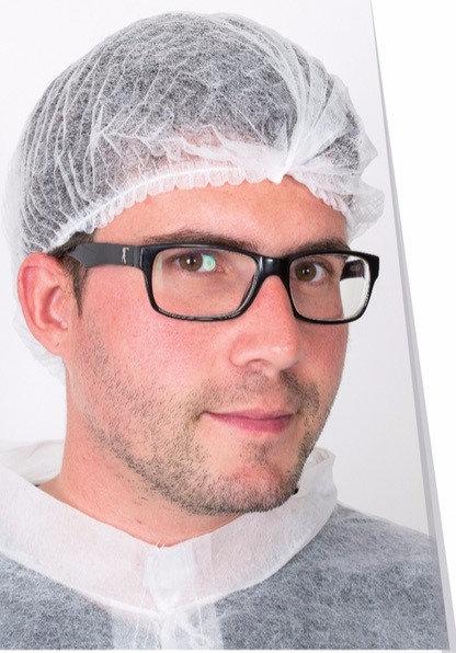 Gorro tipo acordeón de LPDE transparente.Caja 2.000 unidades