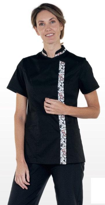 Casaca Girona negro 100% microfibrana