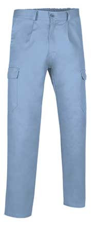 Pantalón Caster multibolsillos tejido sarga 65% poliester 35% algodón