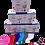 Thumbnail: Mascarilla FFPII Colores surtidos  . Caja  20 unidades.Embolsado individual.